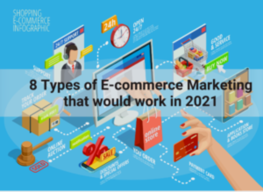 8 types of e-commerce marketing that would work in 2021