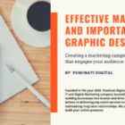 Graphic Designing & Its Importance in Digital Marketing